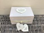 Shabby Personalised Chic In Memory Of A DAUGHTER Loved One Keepsake Box ANY NAME - 253965569779